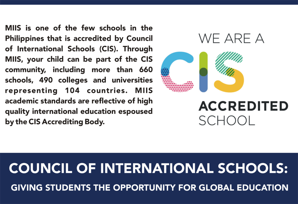 Multiple Intelligence International School CIS Accreditation